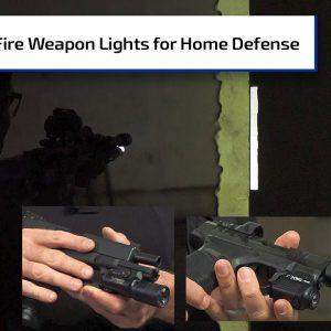 SureFire Weapon Lights for Home Defense Guns | Guns & Gear