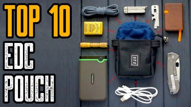 TOP 10 BEST EDC POUCH & POCKET ORGANIZERS YOU MUST HAVE
