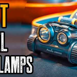 TOP 10 BEST HEADLAMPS ON AMAZON (for Work, Camping & Hiking)