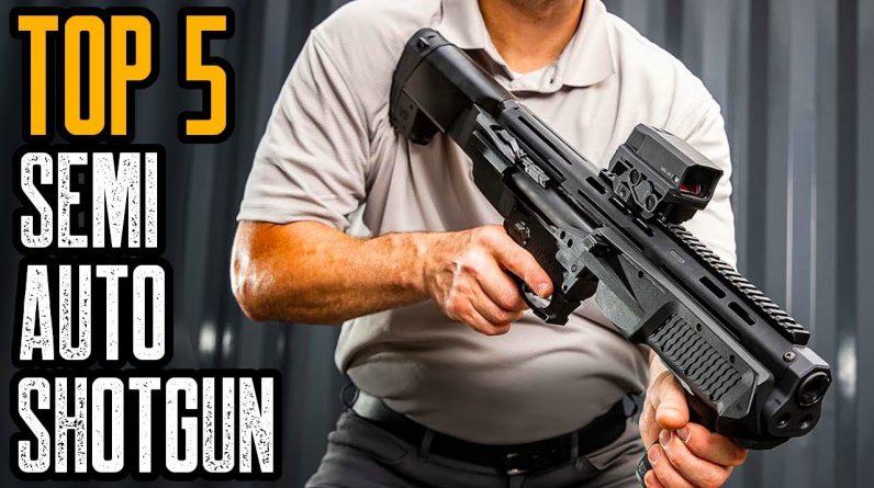 Top 5 Best Semi Auto Shotgun for Home Defense & Hunting
