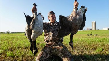 Wisconsin Early Goose Hunt 2021 | Where Are ALL The Geese?!?!