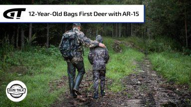 12-Year-Old Takes First Deer with AR-15 | Gun Talk Radio
