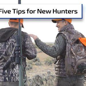 5 Tips for New Hunters to Ensure Success | Gun Talk