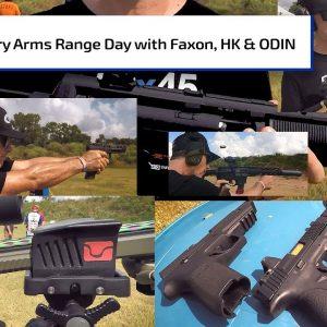 Primary Arms Range Day with Faxon, HK, & ODIN Works | Gun Talk