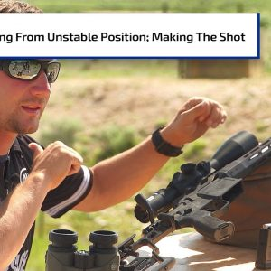 Shooting From an Unstable Position & Making a Great Shot | Gun Talk