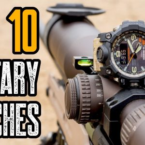 Top 10 Best Tactical Military Watches For MEN 2021