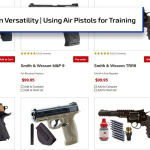 Versatility of Air Guns, Using Them for Training | Gun Talk Radio
